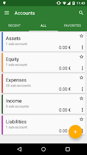 GnuCash- screenshot thumbnail