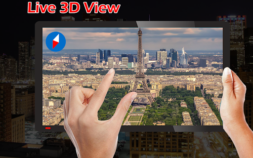 Earth Map Live GPS: Street View Navigation Transit 1.2.9 screenshots 7