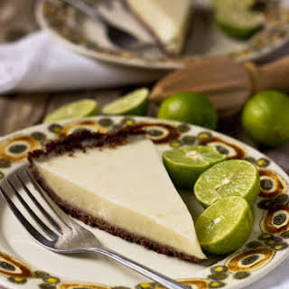 Gluten-Free Vegan Key Lime Pie.