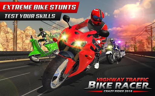Highway Rider Bike Racing: Crazy Bike Traffic Race 1.0.1 screenshots 1