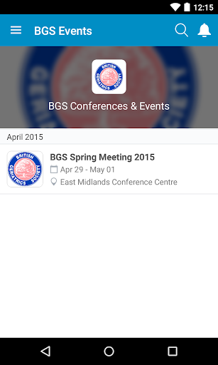 BGS Events