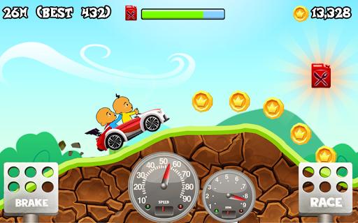Upin Hill Race Games 1.0 screenshots 1