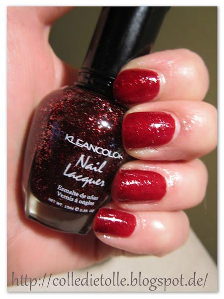 Photo: Kleancolor040 Red Sparkle