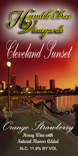 Logo for Humble Bee Vineyards Cleveland Sunset Mead