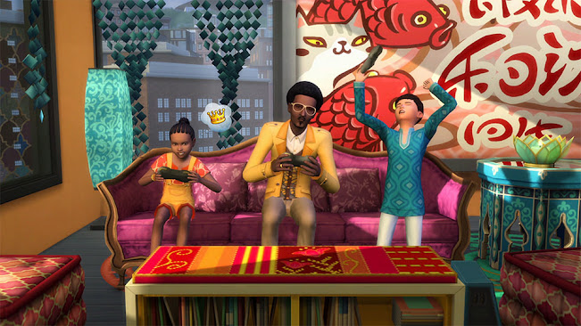 De Sims 4 Stedelijk Leven gamen