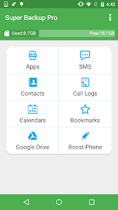 Super Backup Pro: SMS&Contacts v2.2.52 [Paid + Patched] APK 1