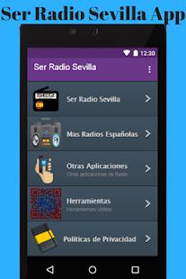 Ser Radio Sevilla App - náhled