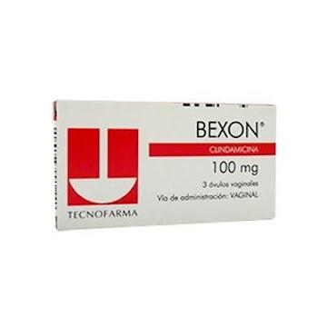 Clindamicina Bexon 100Mg Óvulos Caja x3Óvu. Tecnofarma
