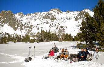 Photo: Lunch spot in upper Beehive Basin