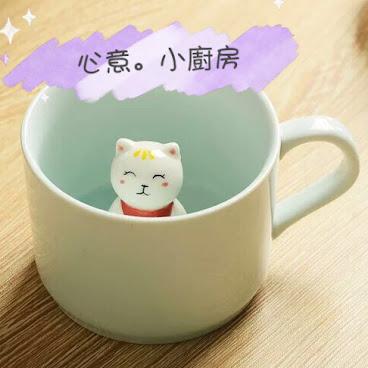 3D動物杯 - 招財貓 (代購)