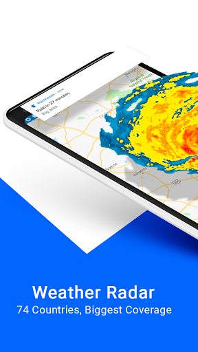 RainViewer: Weather Radar, Rain Alerts 1.10.4 screenshots 1