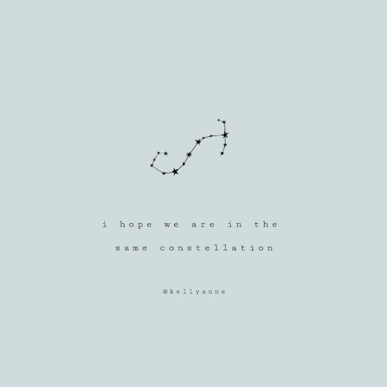 The Same Constellation - Instagram Post Template