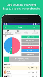 Carb Manager - Keto & Low Carb Diet Tracker - náhled