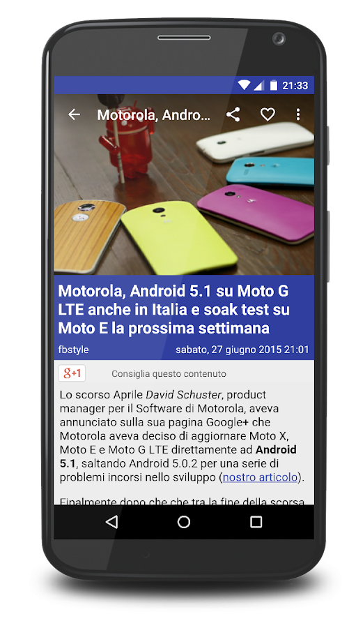 Smartphone Italia- screenshot
