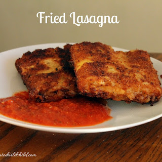 Fried Lasagna Recipe