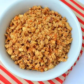 Amaranth-Hemp Seed Apricot Granola
