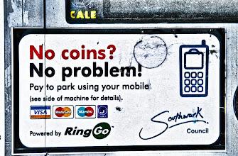 Photo: No coins? No Problem... I like this philosophy :)
