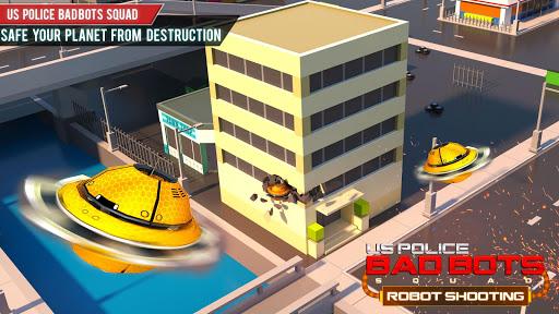 US Police Futuristic Robot Transform Shooting Game 2.0.4 screenshots 21