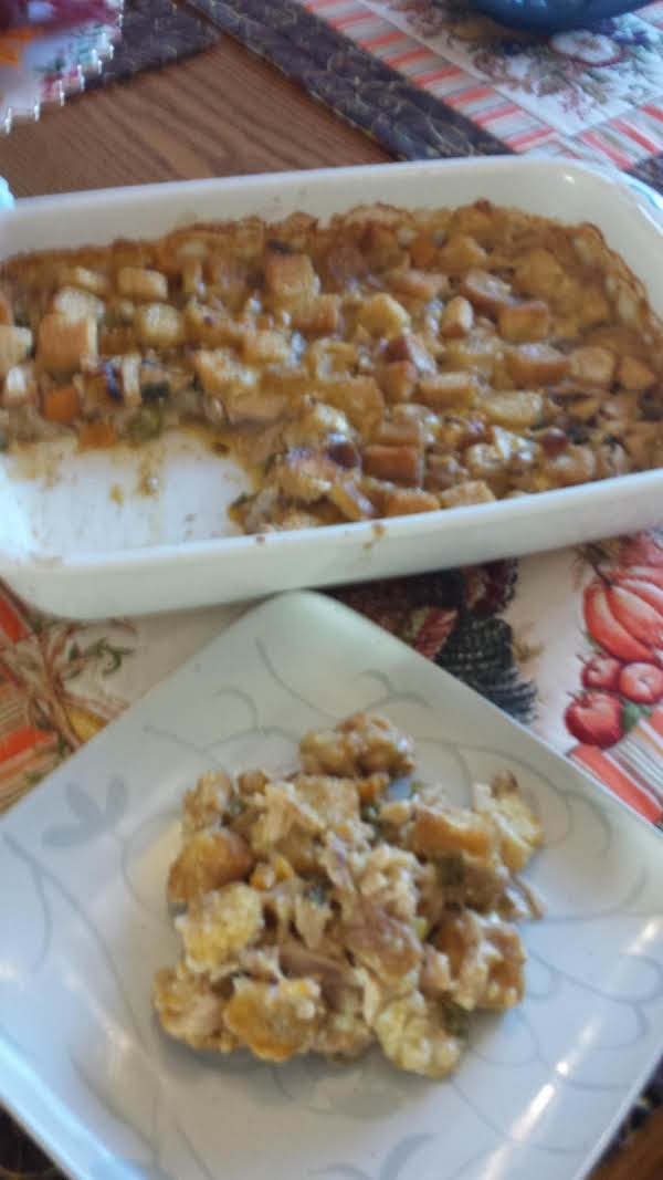 Crumb Chicken Casserole Recipe