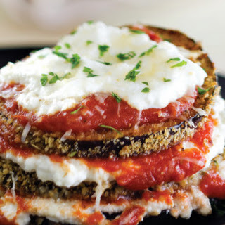 Spicy Eggplant Parmesan with Ricotta.