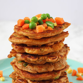 Vegetable Fritters.