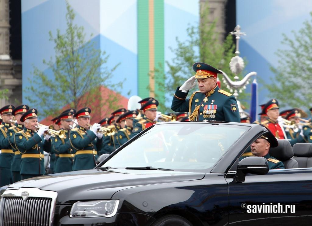 министр обороны РФ, генерал армии, Сергей Шойгу, Aurus