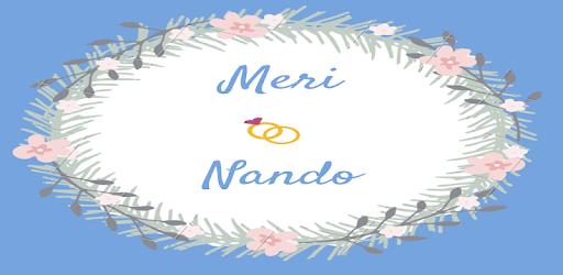 Wedding invitation application Meri & Nando