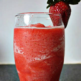 Strawberry Smoothie Surprise.