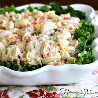 Homestyle Macaroni Salad.