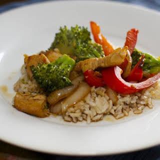 Asian Chicken Stir Fry.