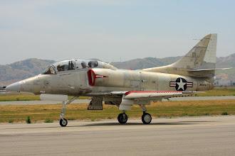 Photo: V USA jsou 3 letuschopné Skyhawky, toto je jeden z nich.