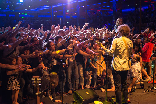 Jonathan Coulton performs at JoCo Cruise, the annual gathering of music and tech nerds at sea. The next  JoCo Cruise sails March 4-11, 2017, on Holland America's Westerdam from San Diego.