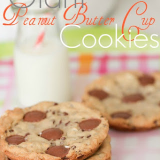 Giant Peanut Butter Cup Marshmallow Cookies.