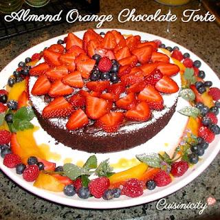 Orange Almond Torte