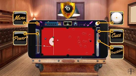Golden Billiard Arena - 3D Snooker & 8 Ball Pool - náhled