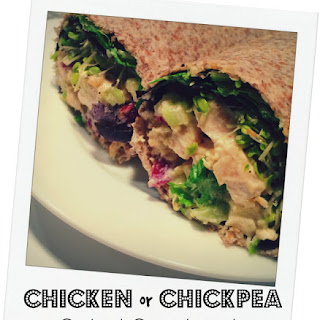Chicken or Chickpea Salad Sandwich