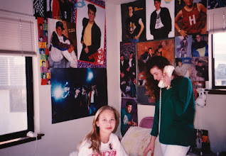 Photo: 1991 - Jodi's room - I still have 5 NKOTB ticket stubs in my photo album plus a whole bunch of terrible pictures of NKOTB on stage