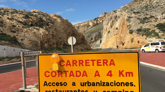 Este viernes ya se podrá circular por El Cañarete