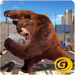 Angry Gundead Bear King Icon