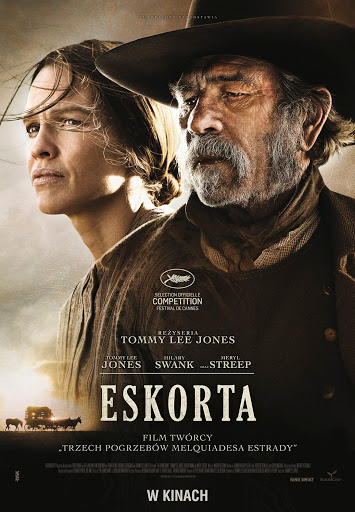 Polski plakat filmu 'Eskorta'