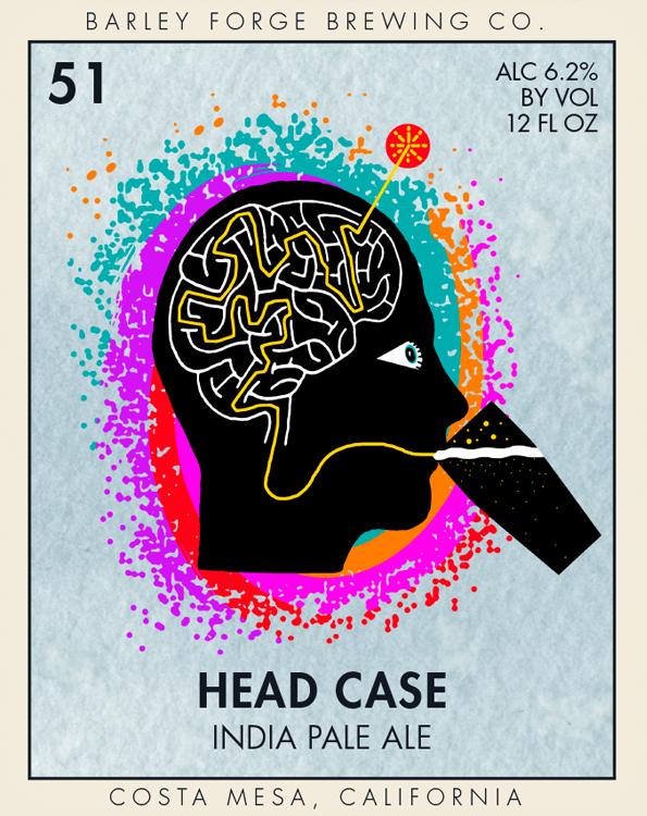 Logo of Barley Forge Head Case