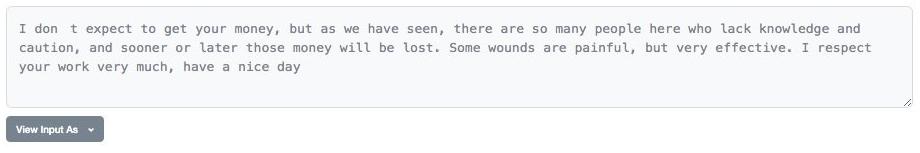 Ответ хакера одному из пострадавших
