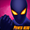 Power Hero Spider - Free fighting games icon