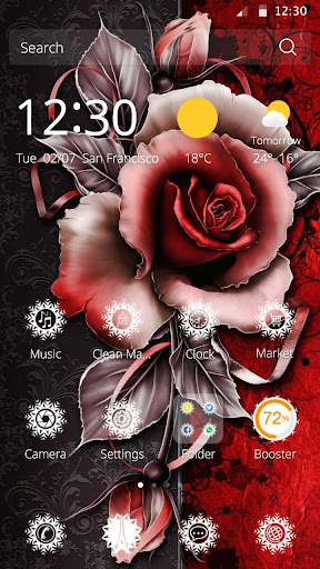 玫瑰DIY主題