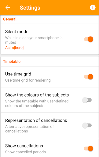 Untis Mobile  screenshots 5