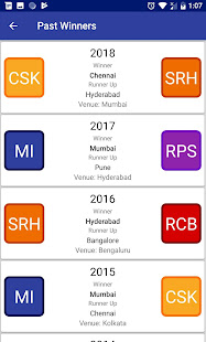 Download Indian T20 League 2019 -Time Table Live Score For PC Windows and Mac apk screenshot 8