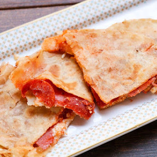 Meat Lovers Pizza Quesadillas Recipe