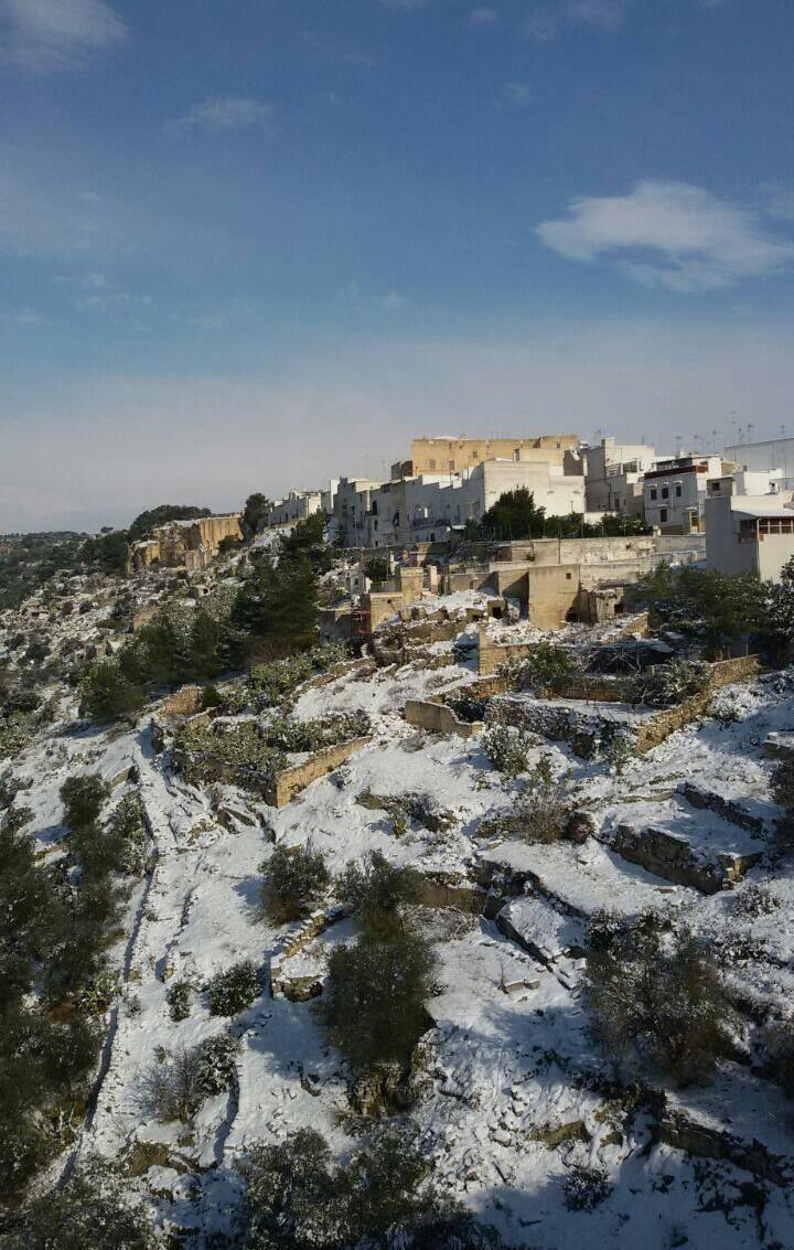 La neve a Palagianello. Un grande evento! di simonaaugh