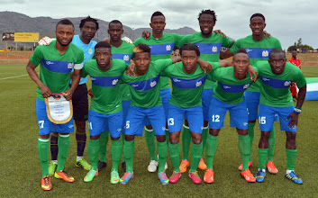 Photo: Leone Stars Official Team Picture [Leone Stars v Swaziland 18 May 2014 Photo © Darren McKinstry]]