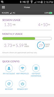 how to live view data usage on netgear